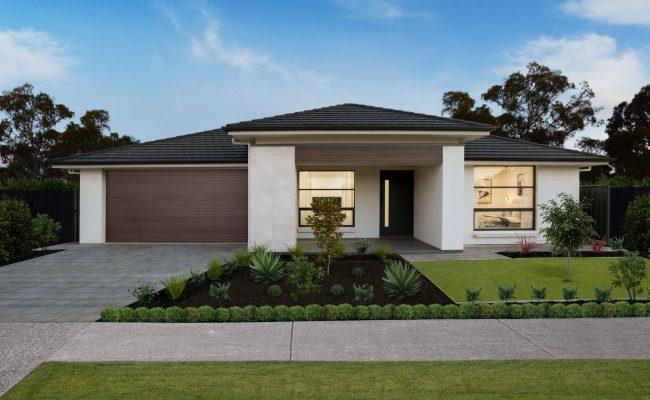 Hickinbothan, Sa Housing and Statesman exteriors at Angle Vale.  Pic JKTP / www.jktp.com.au